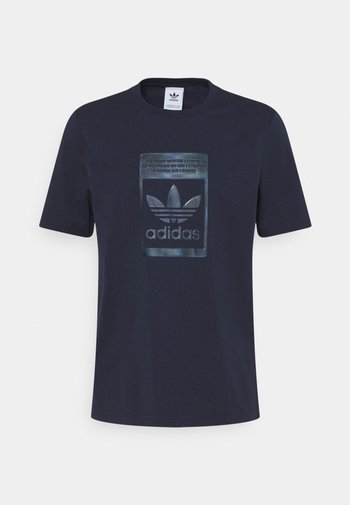 TEE - T-shirt con stampa - night navy