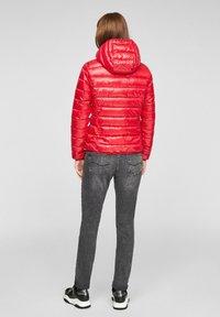 Q/S designed by - MIT KAPUZE - Winter jacket - red - 2