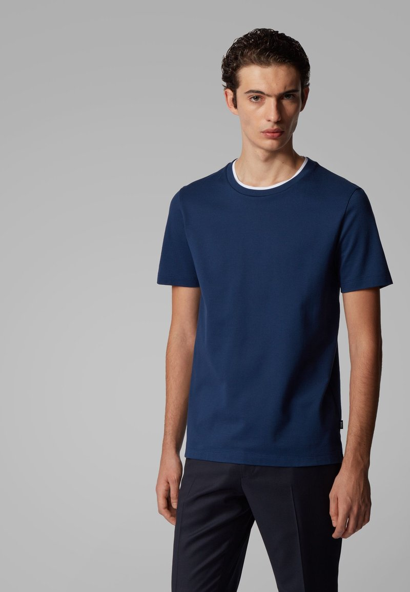 BOSS - TESSLER 128 - T-shirt - bas - dark blue