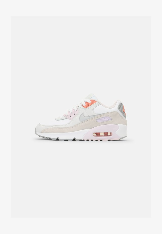 AIR MAX 90 LTR GS UNISEX - Sneakers laag - white/platinum tint/light violet