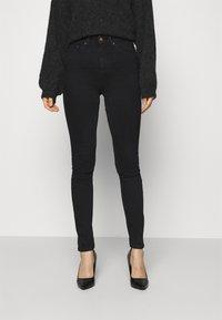 Nudie Jeans - HIGHTOP TILDE - Jeans Skinny Fit - sentimental black - 0