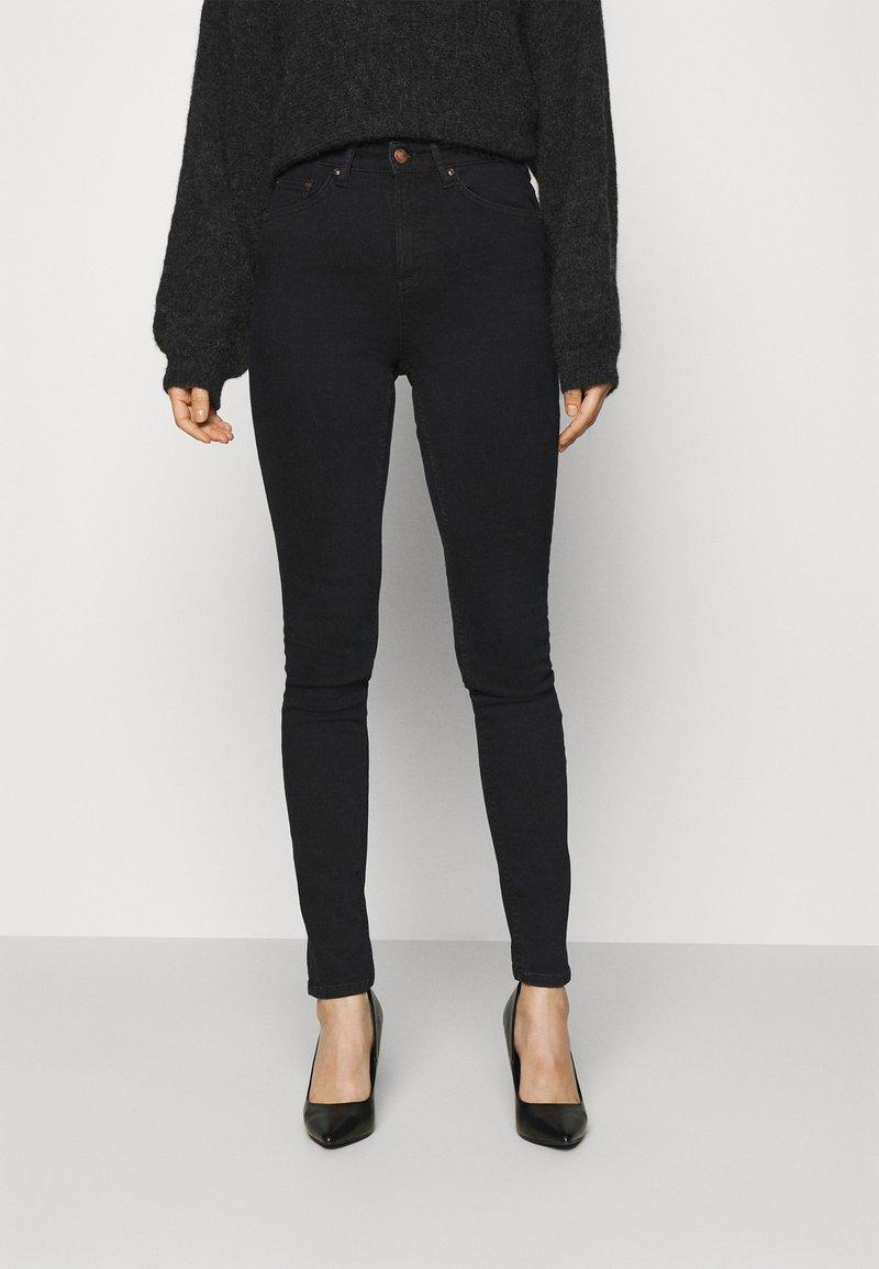 Nudie Jeans - HIGHTOP TILDE - Jeans Skinny Fit - sentimental black