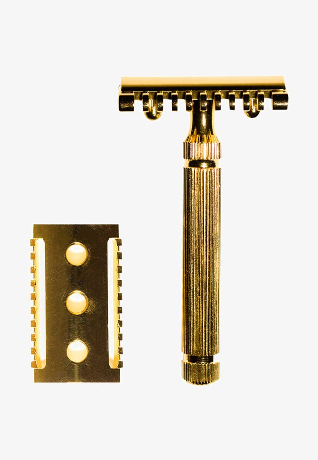 SAFETY RAZOR - DOUBLE HEAD - Barbermaskine - -