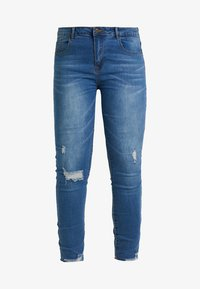 Even&Odd Curvy - Jeans Skinny Fit -  dark blue - 4