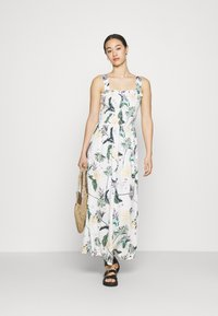 Roxy - UP IN THE FLAMES - Maxi dress - snow white - 1