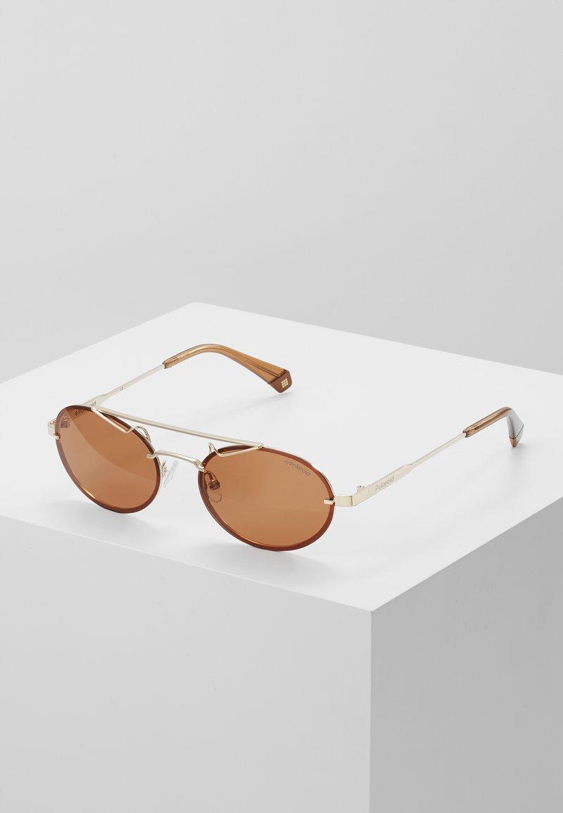 Polaroid - Okulary przeciwsłoneczne - gold/brown