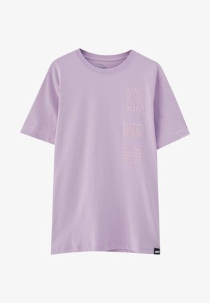T-shirts print - dark purple