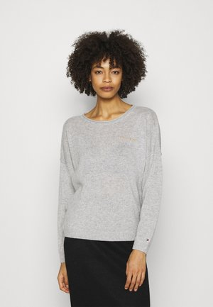 OPEN GRAPHIC - Jumper - light heather grey