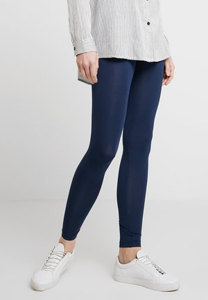 BASIC - Leggings - Trousers - dress blues