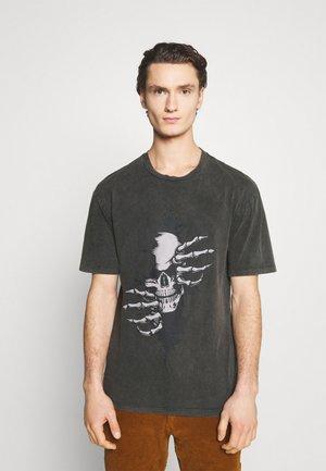JORNIGHTS  - T-shirt imprimé - raven