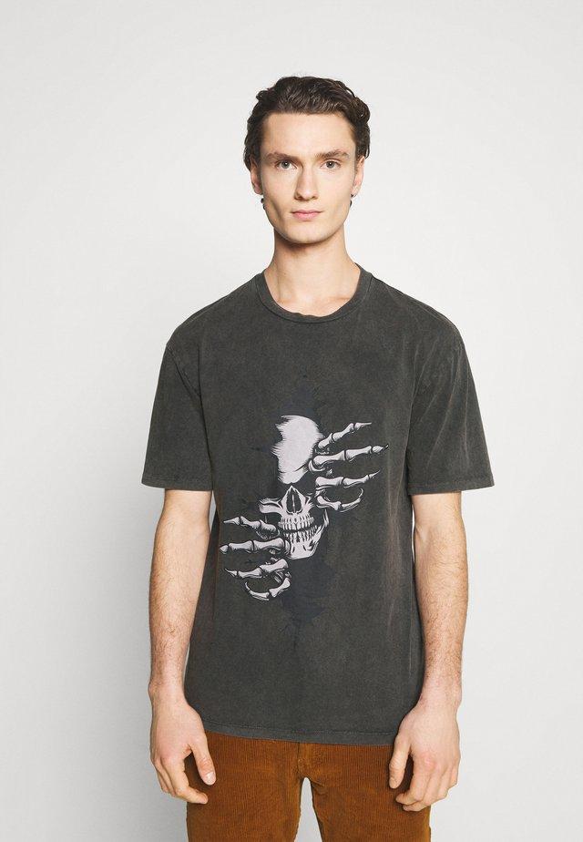 JORNIGHTS  - Print T-shirt - raven