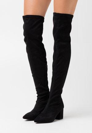 BOOT - Botas mosqueteras - black