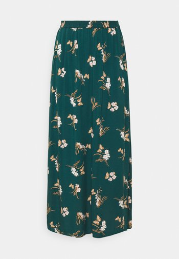VMSIMPLY EASY SKIRT - Maxi skirt - sea moss
