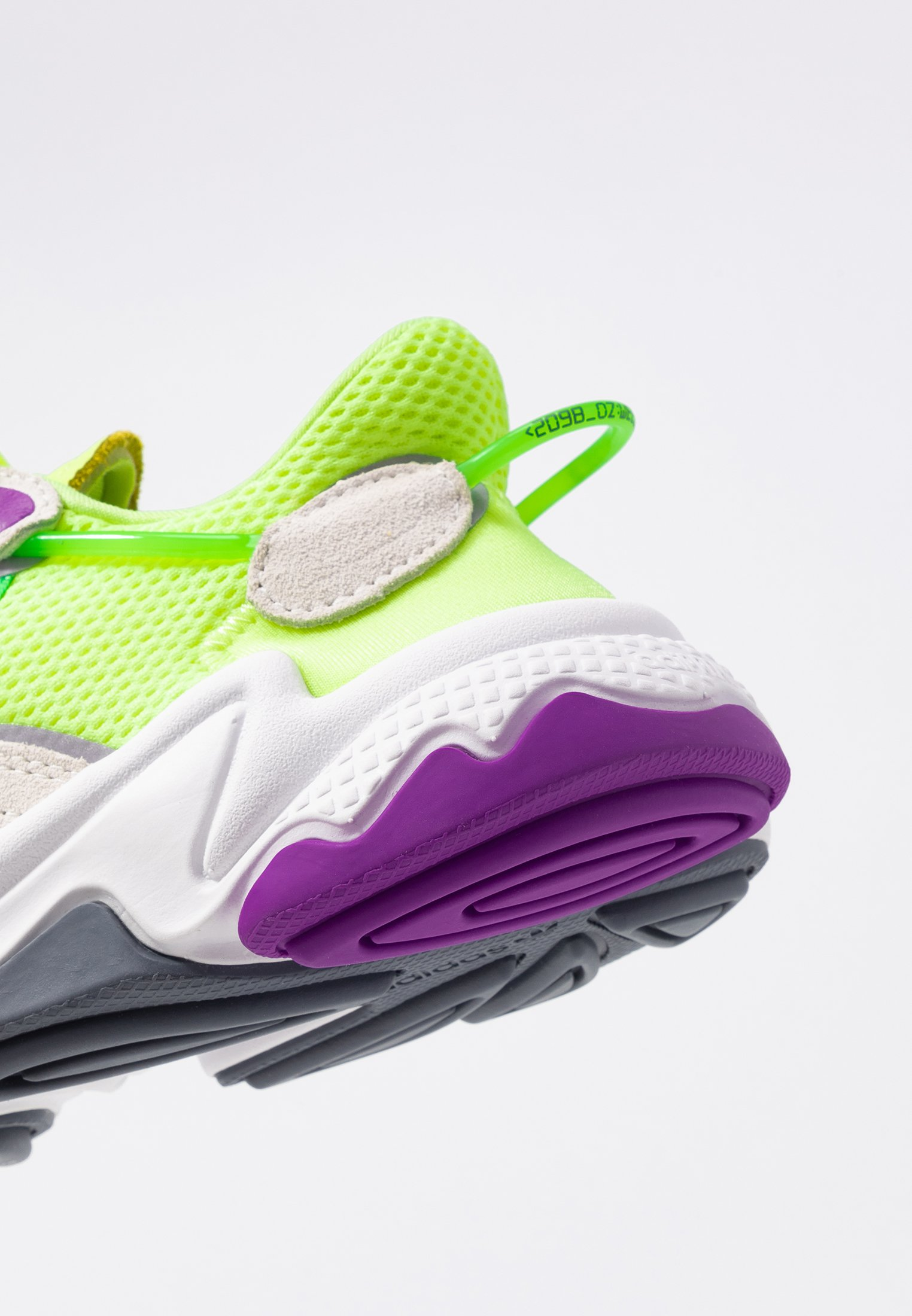 Adidas Originals Ozweego Adiprene+ Running-style Shoes - Sneakers Hi-res Yellow/orchid Tint/shock Lime