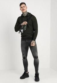 Pier One - Skinny džíny - black denim - 1