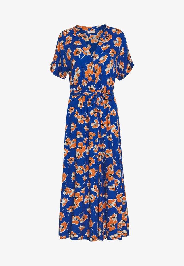 Shirt dress - turkish sea