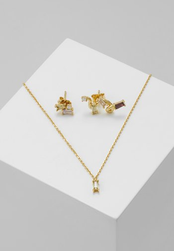 SET - Necklace - gold-coloured