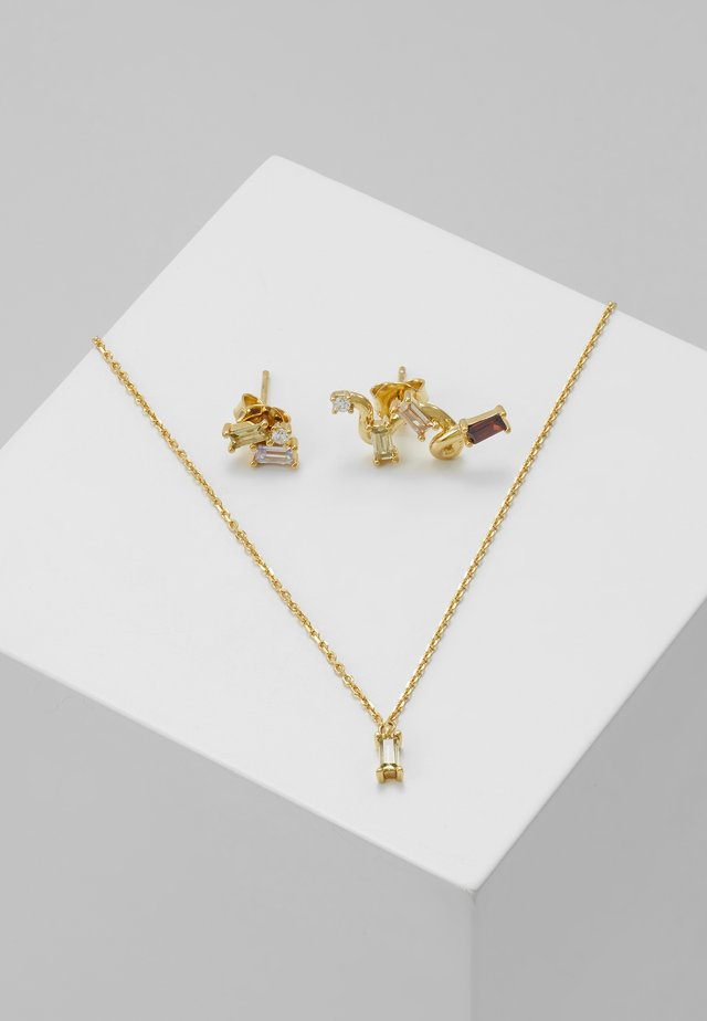SET - Collier - gold-coloured
