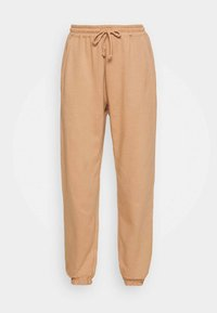 Missguided - Tracksuit bottoms - camel - 3