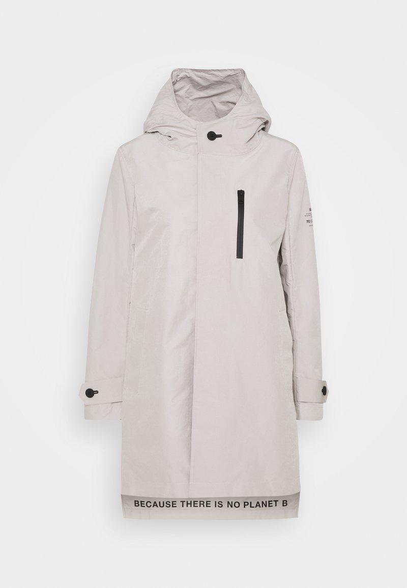 Ecoalf - AMEBA MINIMAL JACKET WOMAN - Short coat - stone