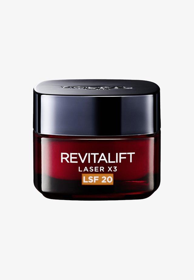 REVITALIFT LASER X3 INTENSIVE SPF20  - Face cream - -