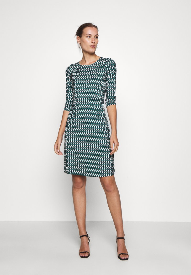 King Louie - MONA DRESS - Jersey dress - peridot green