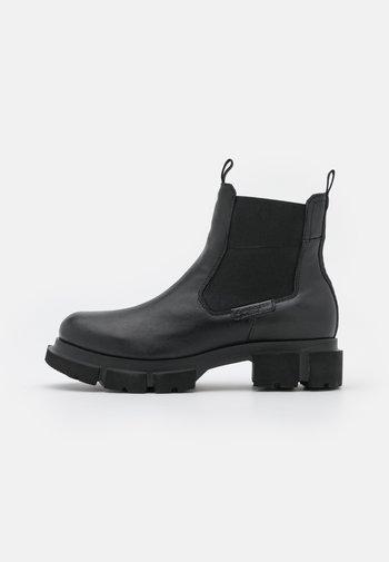 FABELLA - Platform ankle boots - black