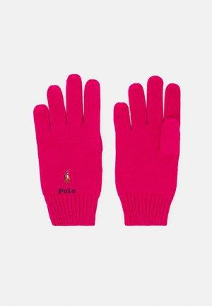 GLOVE APPAREL ACCESSORIES UNISEX - Gloves - sport pink