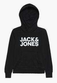 Jack & Jones Junior - JJECORP LOGO HOOD - Hoodie - black - 0