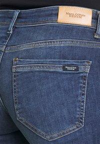 Marc O'Polo DENIM - ALVA - Slim fit jeans - true indigo mid blue - 3