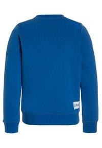 Calvin Klein Jeans - LOGO BRUSHED CREW NECK - Sweater - blue - 1