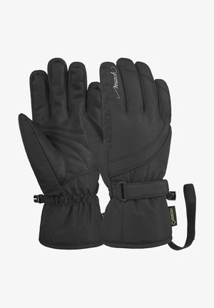 Gloves - black / silver