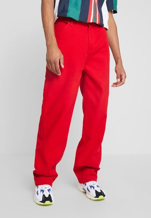 BAGGY - Jeans relaxed fit - red