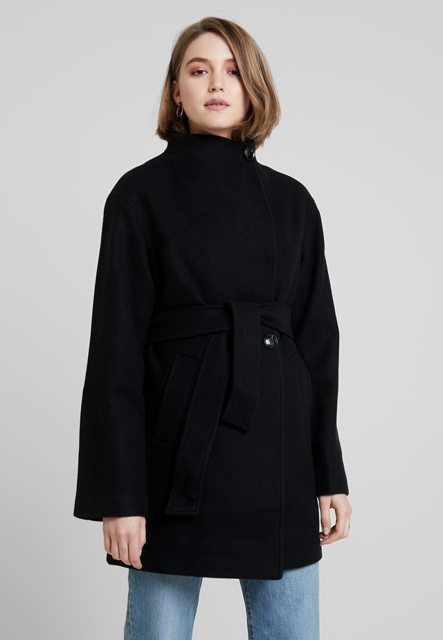 Kurzmantel - black