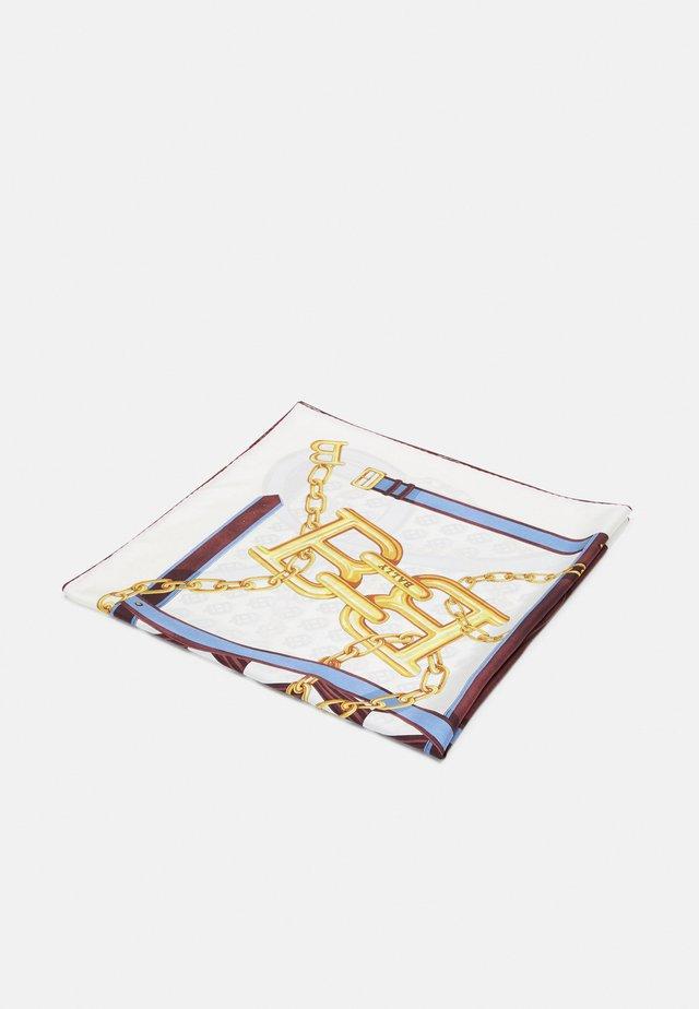 CHAIN LINK SCARF - Foulard - bone/bluebell