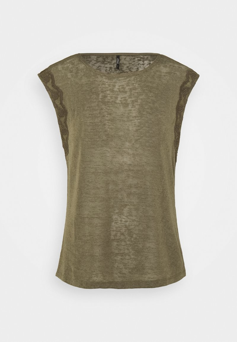 ONLY Tall - ONLCELINE  - T-shirts med print - kalamata