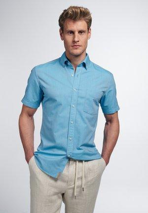 SLIM FIT - Shirt - türkis