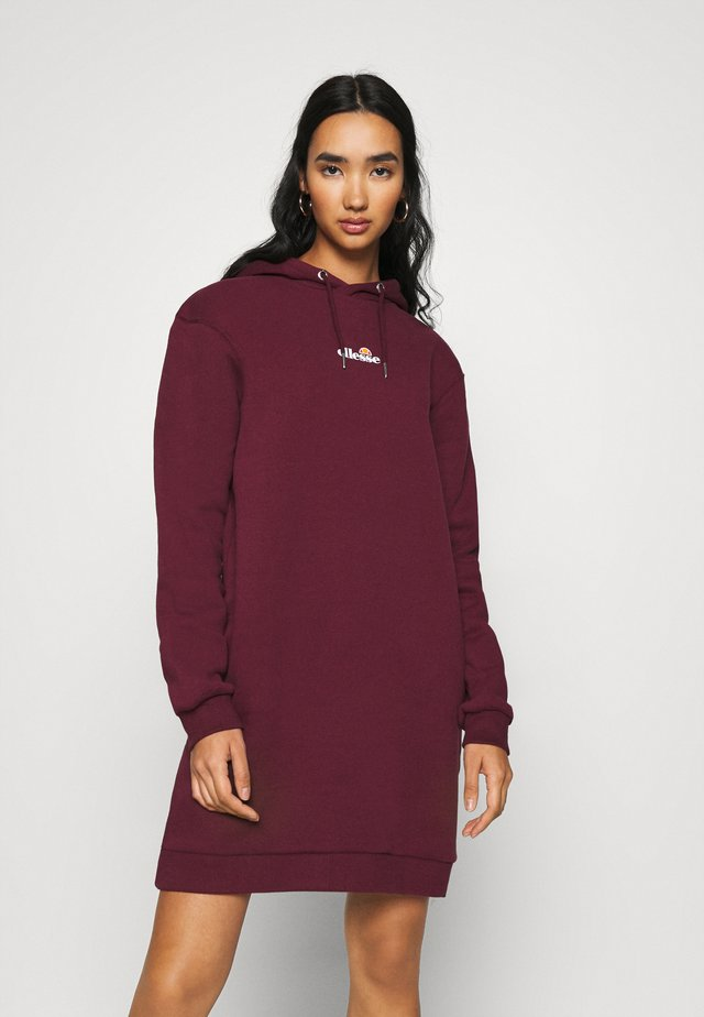 PESCOL - Day dress - burgundy