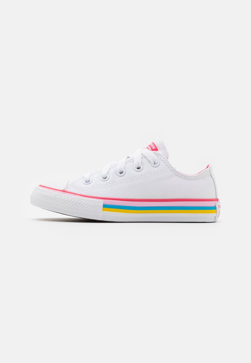 Converse - CHUCK TAYLOR ALL STAR - Trainers - white/carmine pink