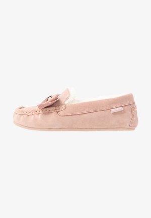 SADIE MOCASSIN - Domácí obuv - pink