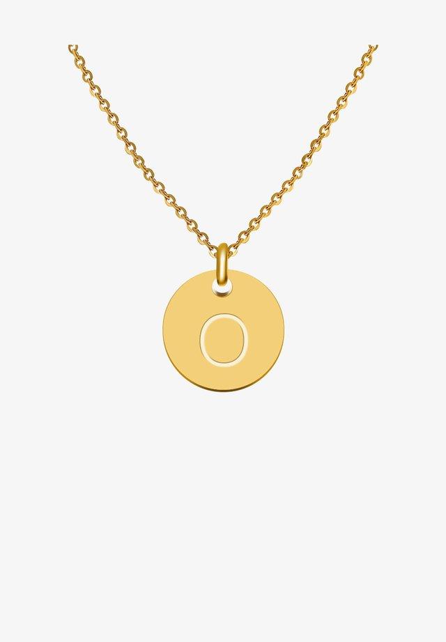 BUCHSTABE O - Halskæder - gold