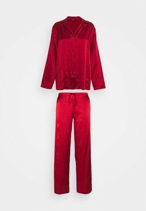 LONG - Pyjama - red tango