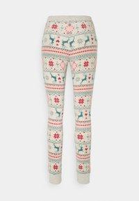 Hunkemöller - TREES - Pyjama bottoms - oatmeal - 1