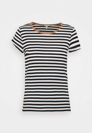 CAP SLEEVE - Print T-shirt - black