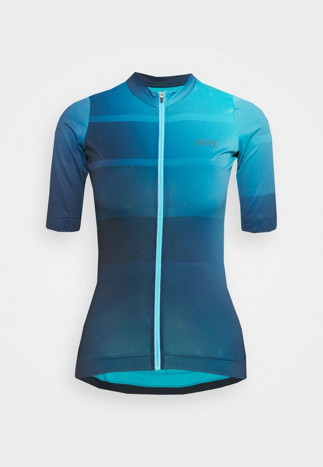WEAR FORCE WOMENS - Print T-shirt - scuba blue/orbit blue