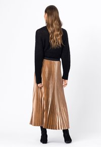 HALLHUBER - A-line skirt - camel - 1