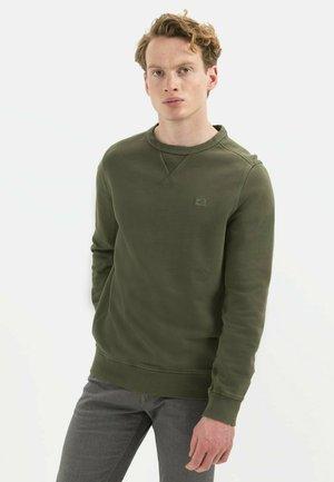 Sweatshirt - olive brown