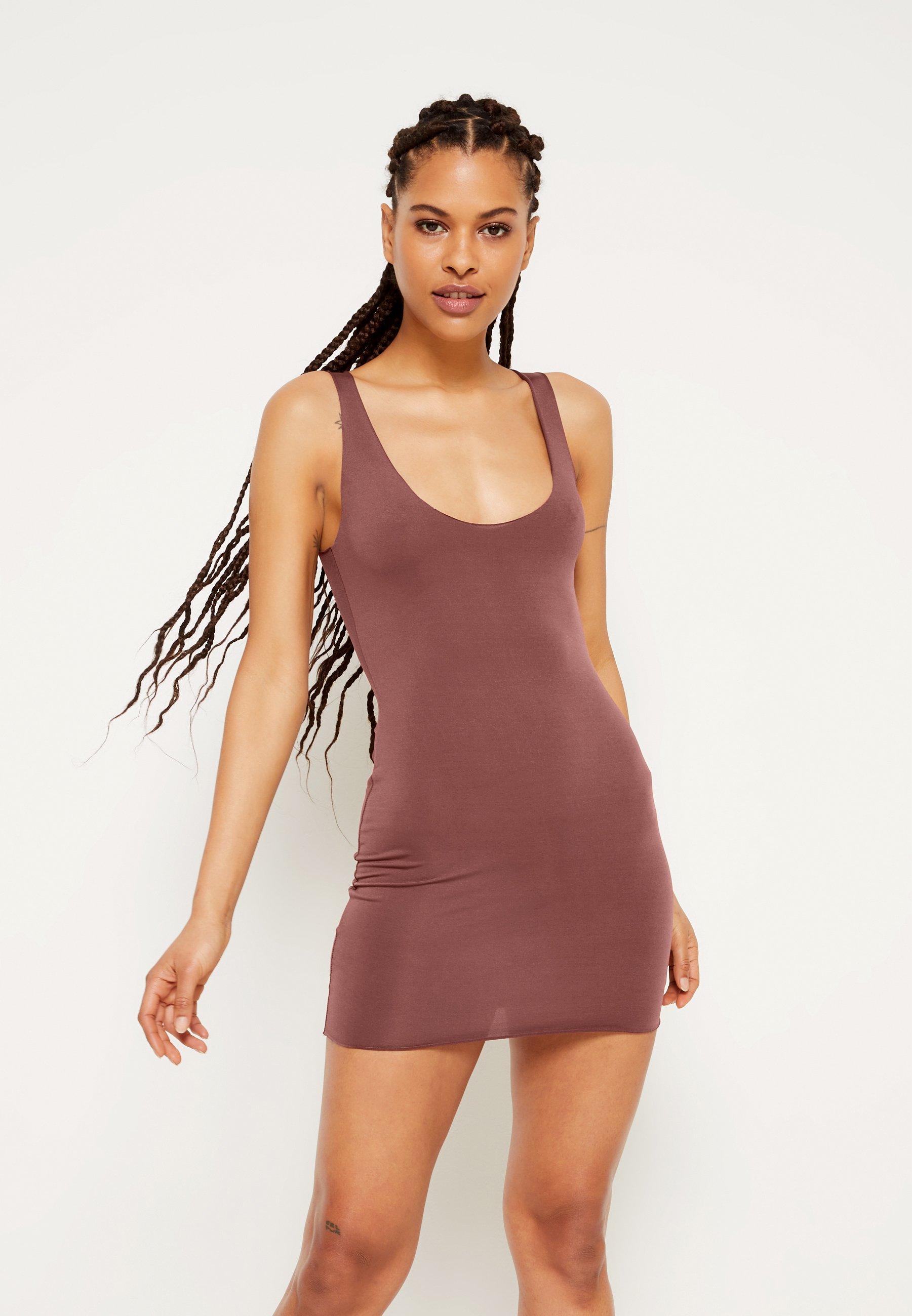 Women RAW EDGE SLINKY RACER MINI DRESS - Day dress