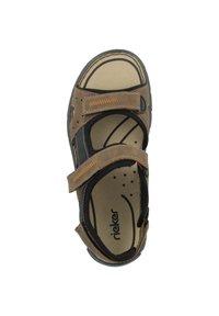 Rieker - Walking sandals - almond-black-black - 2