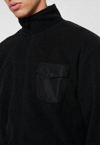 Urban Classics - POLAR TRACK JACKET - Fleece jacket - black - 3